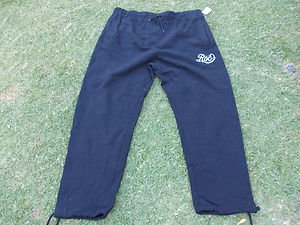 ROCAWEAR Black draw string jogging suite pants  jogging warm up sweat pants XL