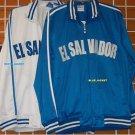 El Salvador Track Jacket White El Salvador long sleeve track jacket XS-3XL