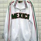 Mexico Track Jacket White Mexico Long sleeve track jacket XS-3XL Mexico City 2