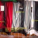 Black White gym shorts Heavy weight basketball football soccer shorts S-4X