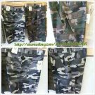 Big Tall Mens Gray Camouflage cargo shorts Gray Camouflage cargo shorts W42-52