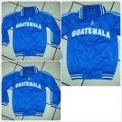 Guatemala City Track Jacket Blue Guatemala long sleeve track jacket XS-3XL