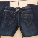 Mens Blue denim jean pants Dark blue denim jean pants Denim jeans 34WX32L