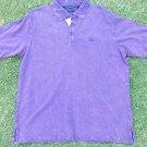 Sean John short sleeve polo short Sean John Vintage style purple polo shirt L
