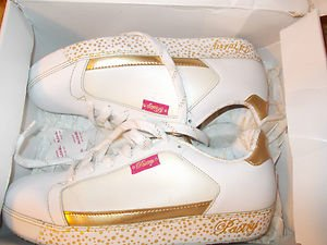 Pastry Fab Cookie shell toe honeydew sneaker shoe White Gold Pastry shoes 8.5