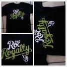 ROCAWEAR black short sleeve T shirt Rocaware  sleeve Tee shirt  Roc Royalty NWT