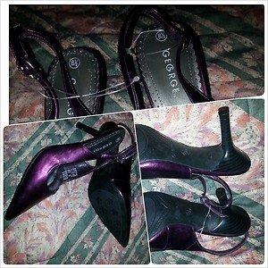 GEORGE Purple High Heel Shoes Womens 2.5' High Heel Shoe 8.5US 11US  NEW