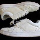 White low top sneaker shoe Greedy Genius White low top skater shoe 9.5US
