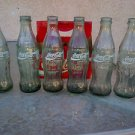 Coca Cola 6 Pack Collector's bottles 1993/ 20YRS Glass Bottles w/ paper carrier