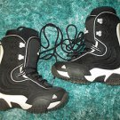 AIRWALK Black Kids Youth Junior Snowboard Boots Boys 7US 40EUR GIRLS 8US  41 EUR