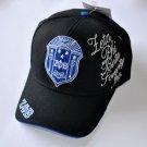 ZETA PHI BETA BASEBALL CAP Z-KITTY BLACK BASEBALL HAT ZETA PHI BETA BALL CAP