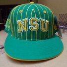 Norfolk State University Spartans baseball cap hat NSU pin stripe baseball cap
