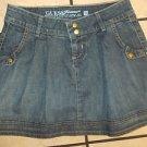 GUESS JEANS blue denim jean skirt GUESS JEANS Mini Skirt Womens Mini Skirt SZ 23
