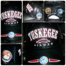 TUSKEGEE AIRMAN BLACK BASEBALL CAP HAT TUSKEGEE AIRMEN BLACK RED TAIL CAP NWT #2