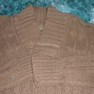 Mens Brown long sleeve sweater by Johnny J Expresso long sleeve sweater S-XL
