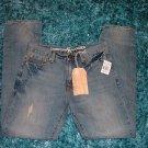 Mens blue denim jean pants by Christian Audigier blue denim jean pants 32WX34