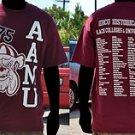 Alabama A&M University Short sleeve T shirt Alabama A&M College T shirt S-4X 2