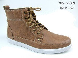 Browbn High Top Sneaker Boots Casual high top boot sneaker Polar Fox  SZ 8-12
