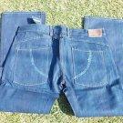 BERT EIGSLER & CO. straight leg jeans blue denim jean pants Men blue jean 41X32