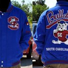 South Carolina State Long sleeve Jacket L-5X SCS Bulldogs Letterman Jacket NWT