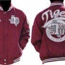 Texas Southern University Long sleeve Jacket  L-5X TSU TIGERS LETTERMEN JACKET