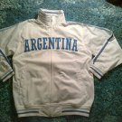 Argentina Track Jacket White Long sleeve track jacket Soccer Jacket L-3X