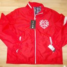 ENYCE long sleeve track jacket Red White long sleeve designer Track Jacket L-XL