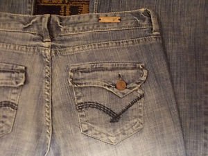 Vanity blue denim jean pante Blue jean pants Flap pocket blue denim jean W31X35L