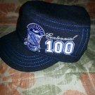 Phi Beta Sigma Military style cadet cap 100 Year Centennial Fraternity Hat Black