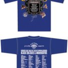 SWAC Conference blue short sleeve t shirt Black College SWAC short sleeve T 2-3X