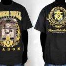 Prince Hall Black short sleeve T shirt Prince Hal Tee 4XL 5XL PHA MASONCI TEE