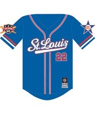 St. Louis Stars Negro League Baseball Jersey 3XL,4XL
