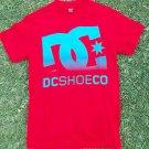 DC SHOE CO. DC SHOE RED short sleeve skater T shirt  DC SHOE RED T- Shirt S