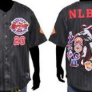 Black Negro League Baseball Jersey NLBM Commemorative Baseball Jersey  M-5X #2