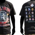 NLBM Commemorative T-shirt Negro League baseball Black Short Sleeve T-shirt M-5X