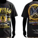 Buffalo Soldiers US ARMY black short sleeve T-shirt 9th 10th Calvary T-shirt M-5