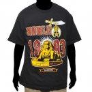 Masonic Freemason Nobel Shriner's short sleeve T-shirt Black Shriner Tee shirt
