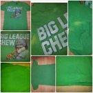 VINTAGE BIG LEAGUE CHEW GREEN SHORT SLEEVE T SHIRT Vintage 80's Tee L