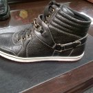 Black High Top Boots Black high top casual sneaker shoe boot by D.ALDO 8.5-13