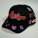 Negro League Baseball Hat Commemorative Negro League Baseball Hat Adjustable BLK