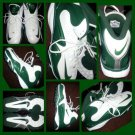 NIKE Zoom Merciless Green White Football shoees All Turf Nike cleats shoes 16 US