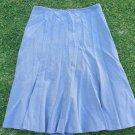 Women's gray office casual dress skirt Worthington strectch polyester skirt 10