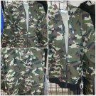 camouflage Up Hooded Sweatshirts PRO CLUB Adult Zip Up Hoodie Hoody sweater S-7X