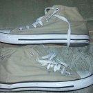 Tan high top canvas sneaker shoe Mens Brown High Top Canvas sneaker shoe 9 US