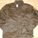 Mens brown long sleeve jacket by Kanji quater length long sleeve Jacket XL