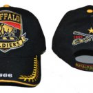 Buffalo Soldiers black baseball Cap Buffalo Soldier Baseball Hat Cap NWT