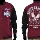 North Carolina Central State Varsity Jacket HBCU College Letterman Coat S-4