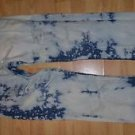 LEVIS BLUE DENIM JEAN PANTS BLUE DISTRESSED DENIM JEAN PANTS 31Wx30L