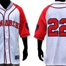 Kansas City Monarchs Negro League baseball Jersey Monarchs NLBM jersey M-5X #22