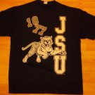 Jackson State University Blue Short sleeve T shirt JSU Tigers T shirt XL